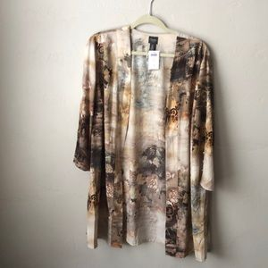 NWT Chico's Asian Duster